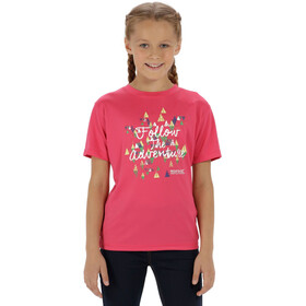 Regatta Alvarado III T-Shirt Kids Hot Pink